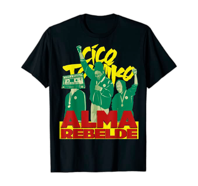 Alma Rebelde Tee black