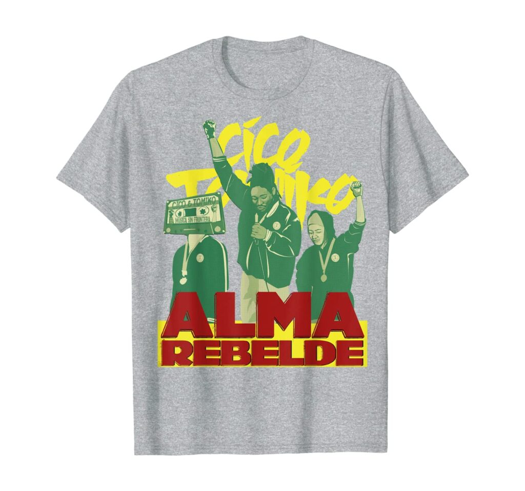 Alma rebelde Tee Heather Grey